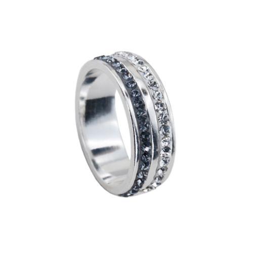 Сребърен Пръстен С Кристали От Swarovski® SP707 Steel and Crystal