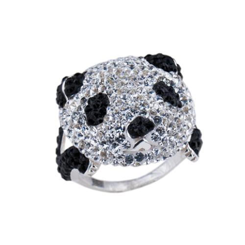 Сребърен пръстен с кристали от Swarovski®  SP711