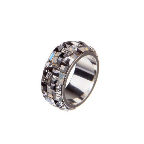 Сребърен пръстен с кристали от Swarovski®  SP712