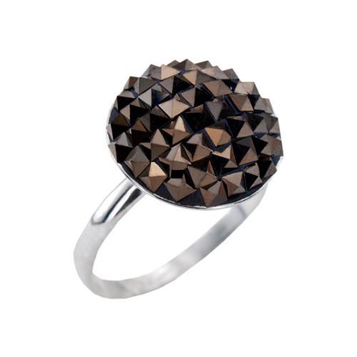 Сребърен Пръстен С Кристали От Swarovski® SP717 Desert Rock