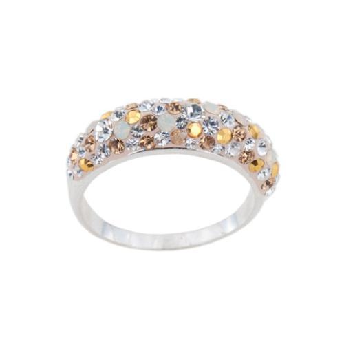 Сребърен пръстен с кристали от Swarovski® SP718 Vintage