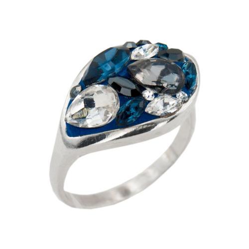 Сребърен Пръстен С Кристали От Swarovski® SP148 Royal