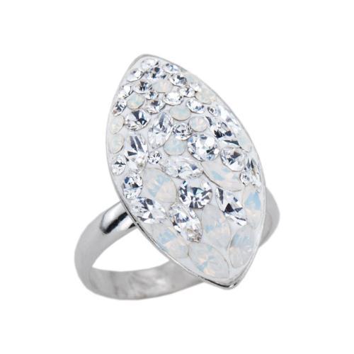 Сребърен пръстен с кристали от Swarovski® SP679 White Magic