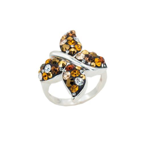 Сребърен пръстен с кристали от Swarovski® SP689 Monte Carlo