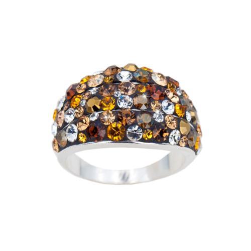 Сребърен пръстен с кристали от Swarovski® SP714 Monte Carlo