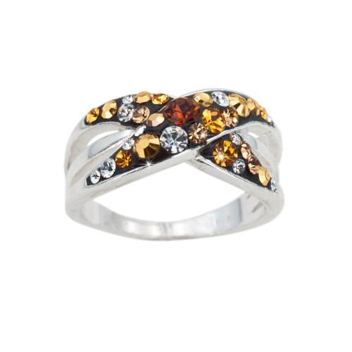 Сребърен пръстен с кристали от Swarovski® SP719 Monte Carlo