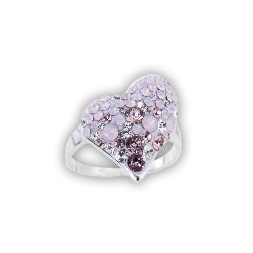 Сребърен пръстен с кристали от Swarovski® SP723 Marilyn