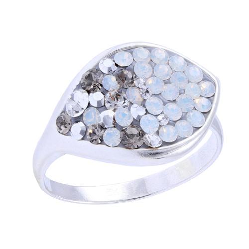 Сребърен Пръстен С Кристали От Swarovski® SP148 Silver Shade