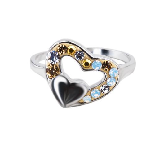Сребърен пръстен с кристали от Swarovski® SP729 Vintage