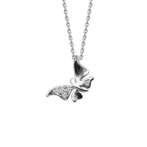"Сребърно колие ""Butterfly"""
